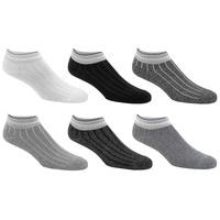 Sof Sole Women's Fashion Quarter Crew Socks - 6-Pack