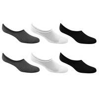 Sof Sole Men's Ultra-Low No-Show Socks - 6-Pack