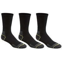 Northpoint Trading Men's Heavy Duty Work Socks - 3-Pack