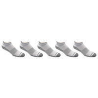 Copper Fit Men's Copper Infused Sport Low-Cut Socks with Ankle Guard - 5-Pack