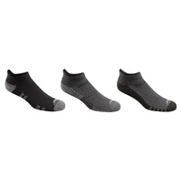 High Sierra Men's Half Cushion Low Cut Socks - 3-Pack