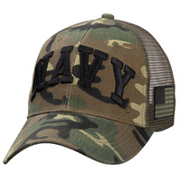 Icon Sports Woodland Camo U.S. Military Cap