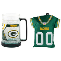 Duck House NFL Crystal Freeze Mug and Tote Bag