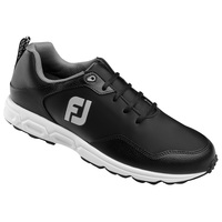 Foot Joy Athletic Spikeless Men's Golf Shoes - Black/Gray