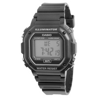 CASIO Men's Classic Digital Resin Square Watch