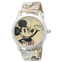 Disney Mickey Mouse Authentic Comic Book Art Watch