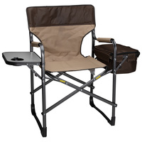 MAC Sports Deluxe Director's Chair with Side Table and Cooler