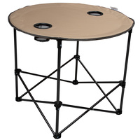 MAC Sports Round Folding Table