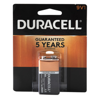 Duracell CopperTop 9V Alkaline Batteries - 1 Count